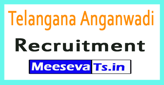 Telangana Anganwadi Recruitment