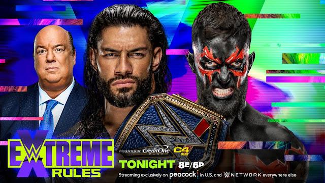 Ver WWE Extreme Rules 2021 En vivo Español Online