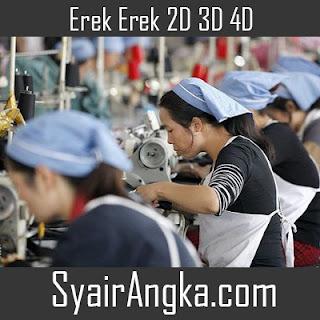 Erek Erek Menjadi Buruh 2D 3D 4D