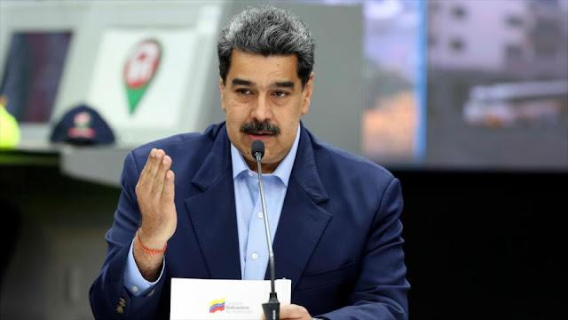Maduro denuncia 'acciones militares violentas' contra Venezuela