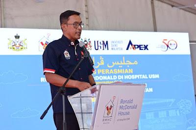 'Keeping Families Close' - Azmir Jaafar, Presiden RMHC Malaysia