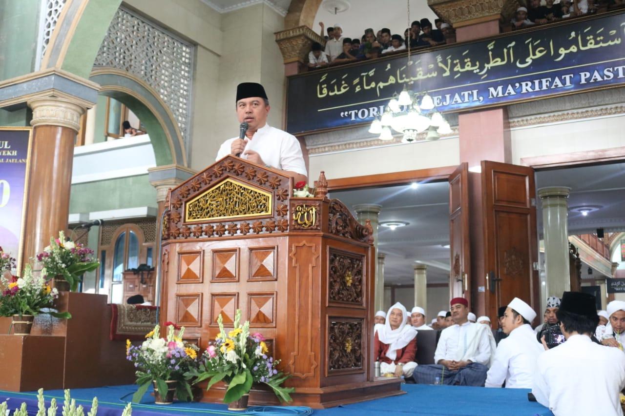 Kapolda Banten, Hadiri Haul Tuan Syekh Abdul Qodir Al-Jaelani ke 60