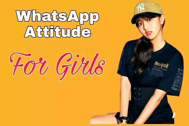 Attitude WhatsApp Status For Girls in Hindi
