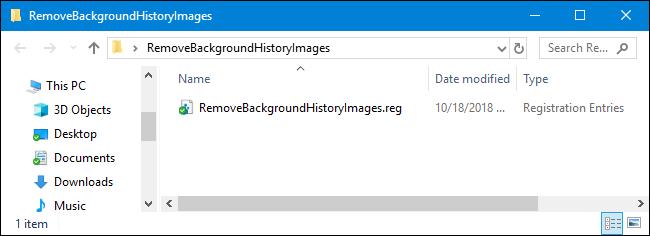 Scarica il nostro Hack del Registro di sistema in un clic
