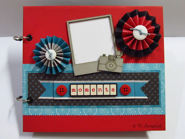 álbum de fotos scrapbook