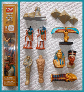 Ancient Egypt; Ancient Egyptians; Anubis; Bastet; Egyptian Deities; Egyptian Gods; Egyptian Model Figures; Egyptian Mummies; Egyptian Pyramid; Egyptian Toy Figures; Egyptian Toy Pyramid; Egyptian Toy Soldiers; Godesses; Gods of Egypt; Horus; Isis; K&M; K&M Egyptians; K&M Figures; K&M Rack Toy; Matt; nefertiti; Osaris; PVC Egyptians; Safari; Safari Egyptians; Scarab; Small Scale World; smallscaleworld.blogspot.com; Sphinx; Toob; Toth; Vally of the Kings; Wild Republic;