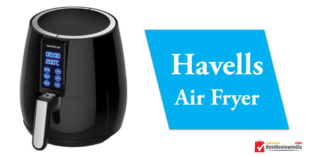 Havells Air Fryer in Black colour.