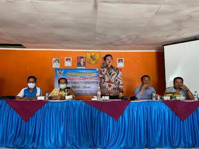 Angga Satria Sosialisasikan Wawasan Kebangsaan dan Idiologi Pancasila