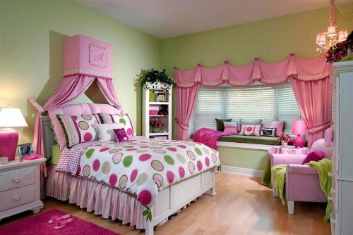 Girls Bedroom Toddler Decoration Ideas. Cute Room For Baby