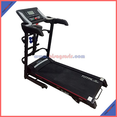 TREADMILL Electric 4 fungsi TL 645 GARANSI TOTAL