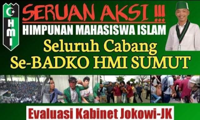 Kecam Aksi Represif Polisi, Seluruh Cabang Badko HMI Sumut Bakal Demo