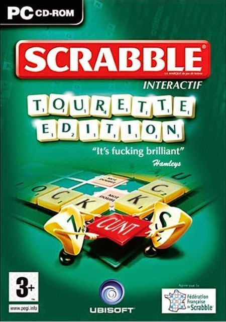 Funny Scrabble Tourette Edition Joke Picture