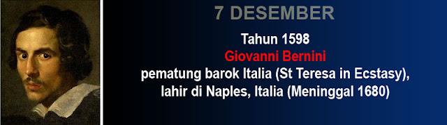 Hari Kelahiran Giovanni Bernini pemahat patung Italia