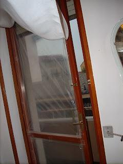 doppi vetri cellophane tendina attillata spessa freddo risparmio energetico fai da te