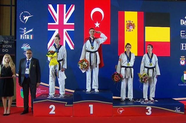 Tekvandocu İrem YAMAN, G4 Ekstra Avrupa Şampiyonu Oldu