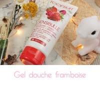 Sensibulle gelée de douche Framboise/fraise Toofruit