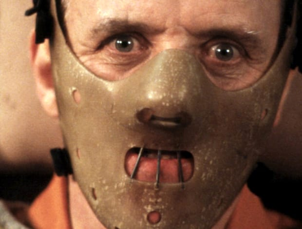 Hannibal Lecter, The Silence of the Lambs, Anthony Hopkins,Horror Movie Villains, Stephen King Store