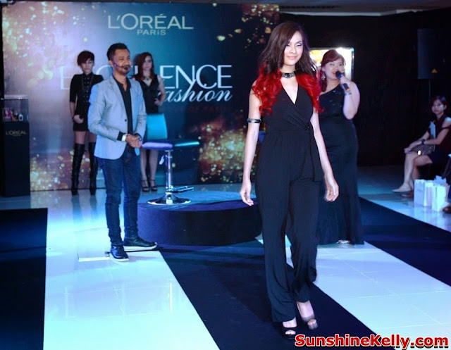 L'Oreal Paris Excellence Fashion Hair Color, hair color, hair care, L'Oreal Paris, L'Oreal Paris hair, excellence fashion, hair color trend, Hairstylist Chez Hamdan, Urban Chic hair style, Edgy Rock hair style, Sultry Vixen hair style, Urban Chic, Edgy Rock, Sultry Vixen