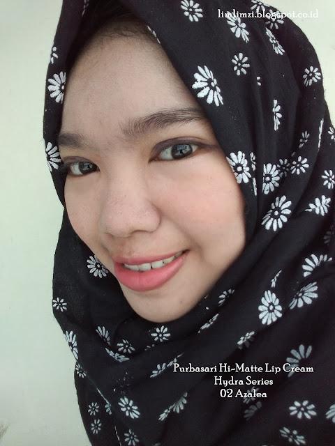 Purbasari Hi-Matte Lip Cream Hydra Series  02 Azalea