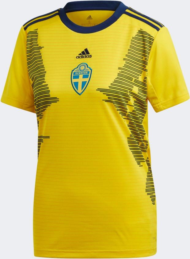 1311f223f Adidas lança a camisa titular da seleção feminina da Suécia - Show ...