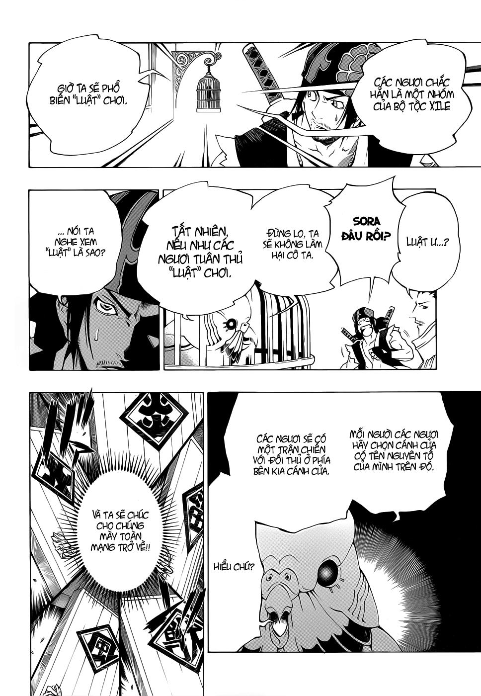 Examurai chapter 007 trang 9
