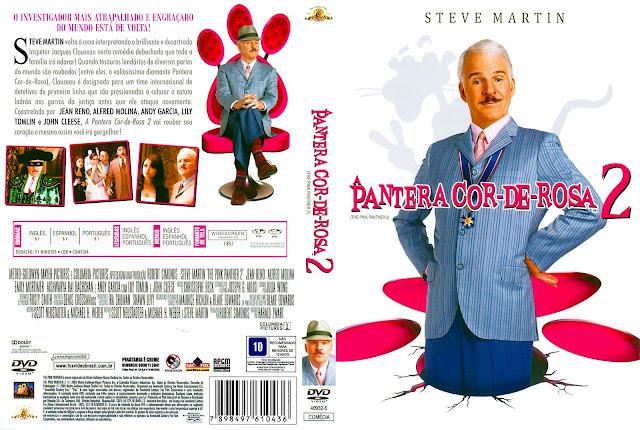 Capa DVD A Pantera Cor de Rosa 2