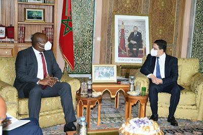 M. Bourita reçoit son homologue burundais, porteur d'un message du président de la République du Burundi à SM le Roi