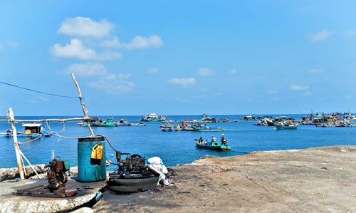 Đảo Hòn Chuối trước ngày chuyển gió -3