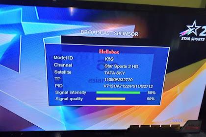 Software K5S Free Scam TATA SKY 83' Sony sports