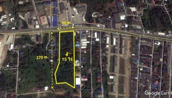 ขาย!!! ที่ดินสวย เมืองจันทบุรี 15 ไร่ มีโฉนด พร้อมโอนทันที เจ้าของขายเอง ติดถนนใหญ่ 4 เลน