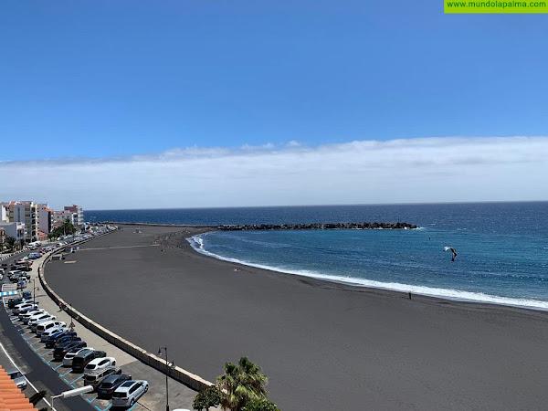 La Playa de Santa Cruz de La Palma obtiene por primera vez la bandera azul
