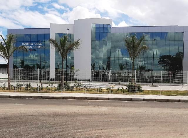 Novo Hospital Clériston Andrade tem data de entrega adiada mais uma vez