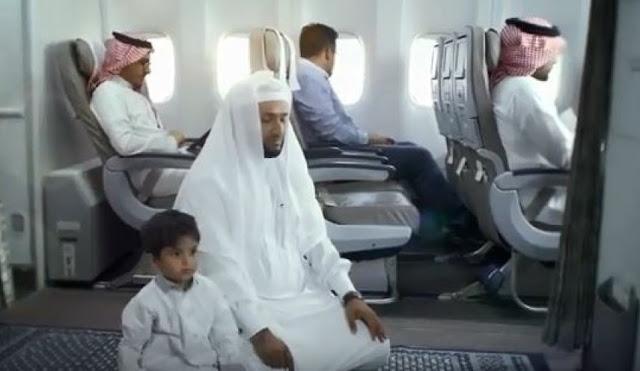 Doa Naik Kendaraan Udara - Arab, Latin dan Artinya