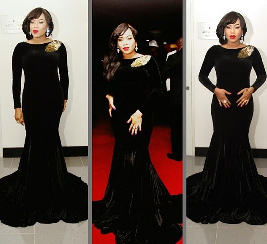 Amvca 2015 Toyin Lawani Designs Half-Naked Dresses For -5235