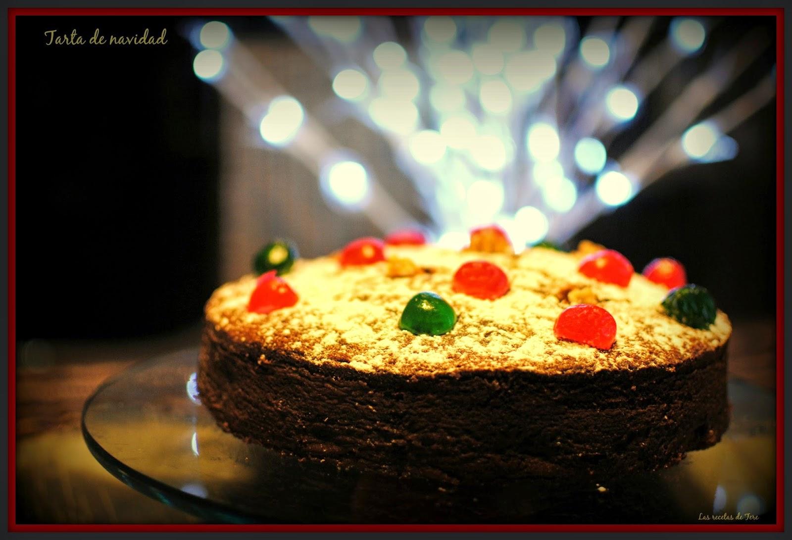 Tarta de Navidad tererecetas 01