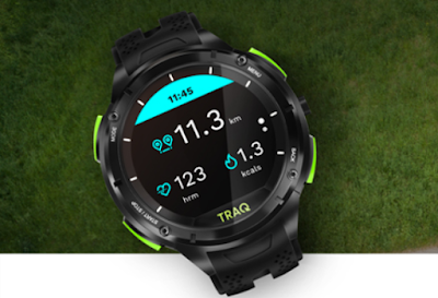 Traq by Titan Cardio Unisex Smartwatch With GPS, Heart Rate Zone and Long lasting Battery