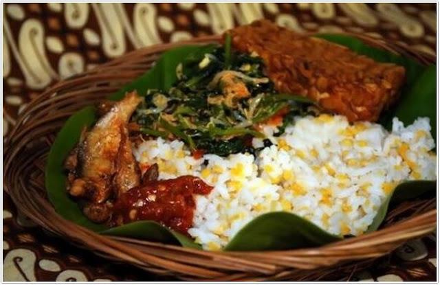 nasi glepungan ;10 Top Kuliner Probolinggo