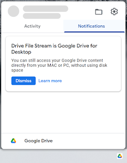 'Google Drive for desktop' replacing Backup and Sync in 2021, add Google Photos upload