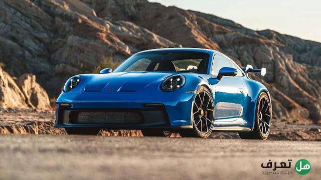 السيارة الجديدة  بورش 2022 Porsche 911 GT3