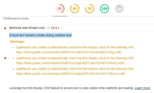 blogger webfont load
