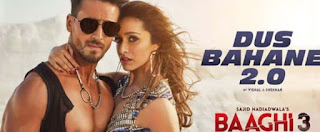 दस बहाने Dus Bahane 2.0 Lyrics in Hindi - Baaghi 3
