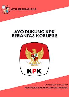 Dukung KPK Berantas Korupsi