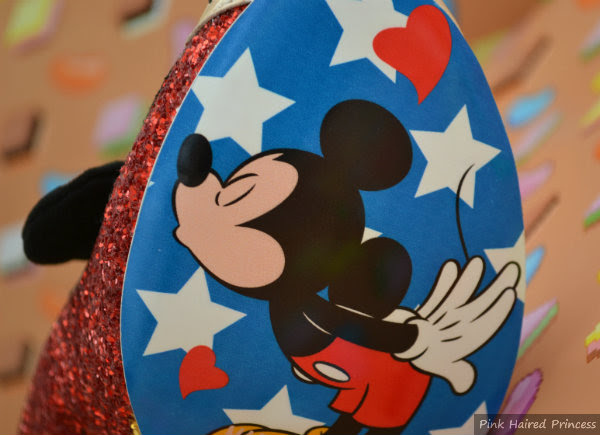 oh boy mickey mouse sole detail