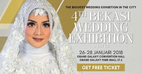 JEE Kembali Gelar Bekasi Wedding Expo Yang Ke-4