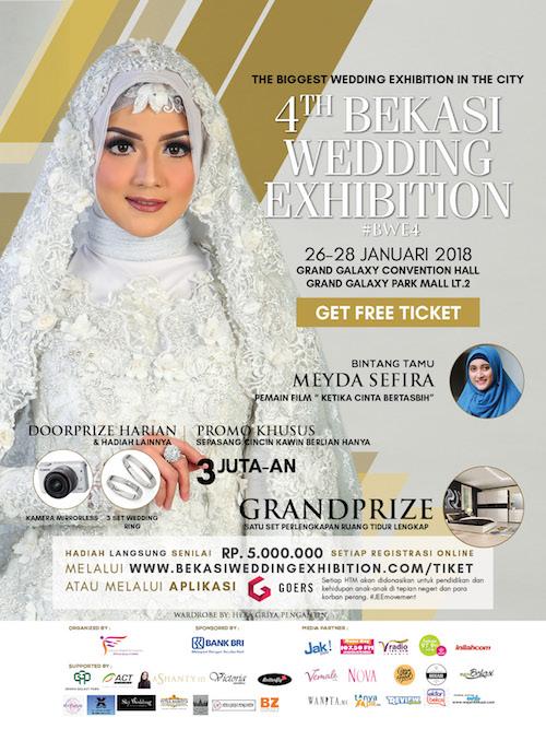 Kenapa Harus Ke 4th Bekasi Wedding Exhibition?
