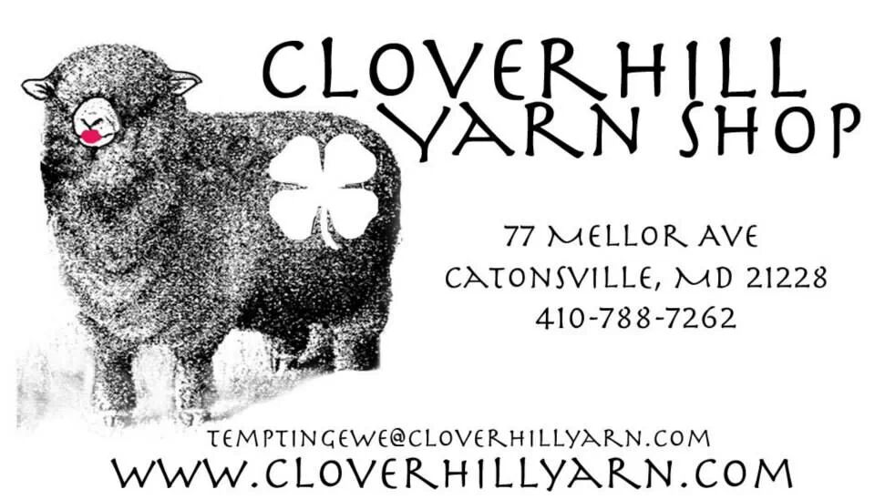 Tier 1 Sponsor: Cloverhill Yarn Shop