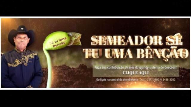 Pastor Valdemiro será investigado por vender feijões mágicos contra o coronavírus