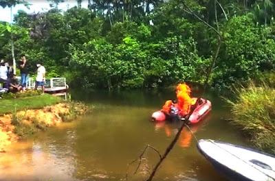 Lagi Syuting  di Hutan Bakau Bintan, Diduga Korban Terseret Arus