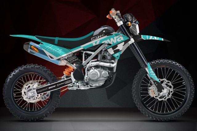 harga motor Motor Kawasaki KLX 150BF lengkap spesifikasi