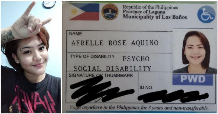 Afrelle Rose Aquino PWD